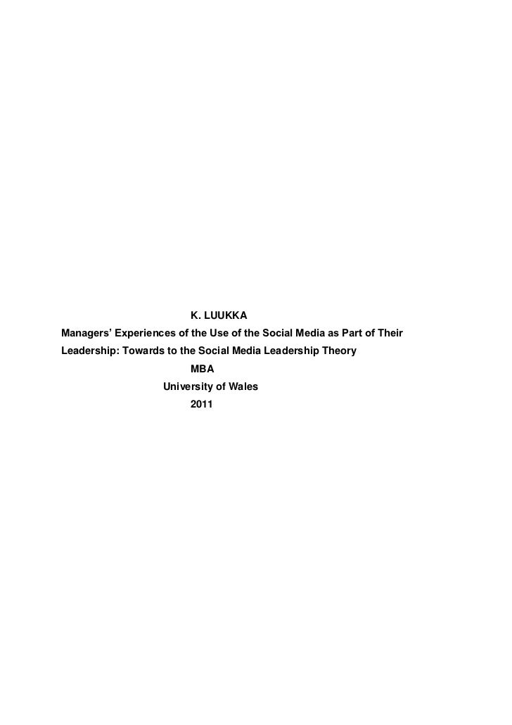 Katri luukka dissertation without appendices