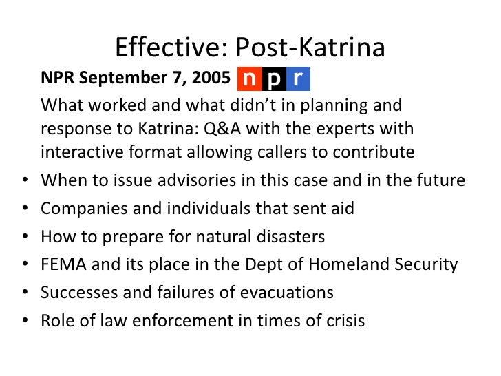 Katrina group presentation ppt