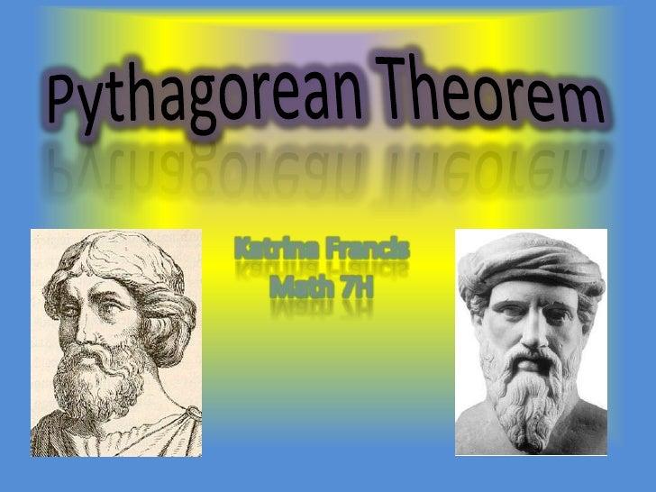 Math 7H Katrina Pythagorean Theorem