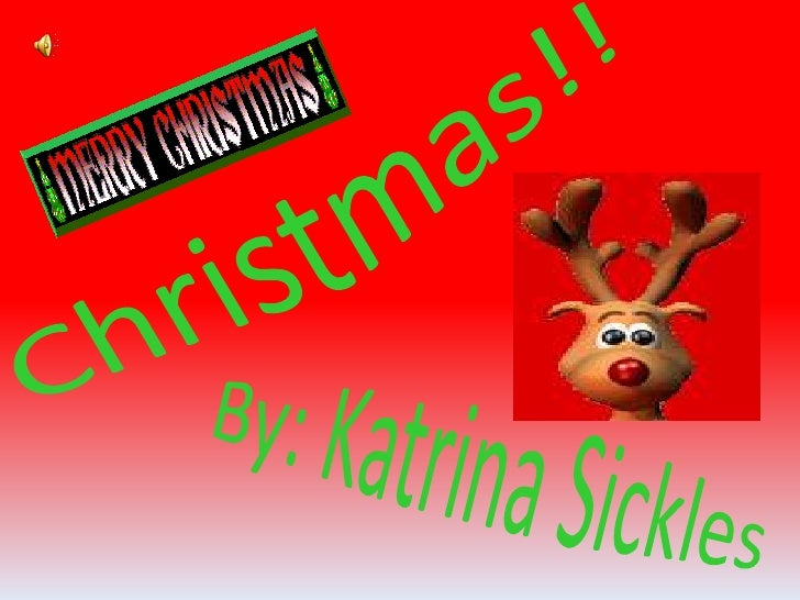 Katrina's christmas power point