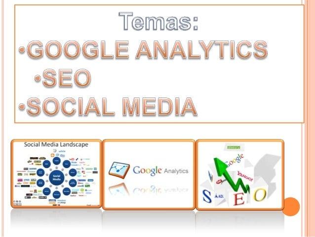 Google Analytics es un servicio gratuito de estadísticas de sitios web.Ofrece información agrupada según los intereses de ...