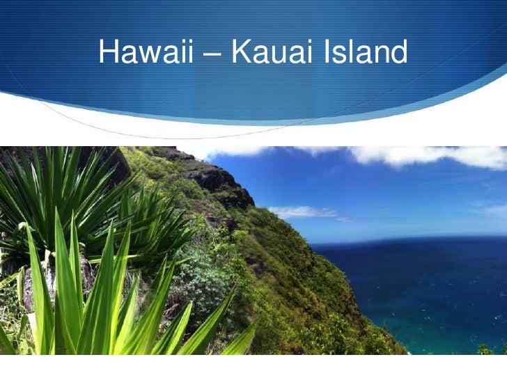 Hawaii – Kauai Island