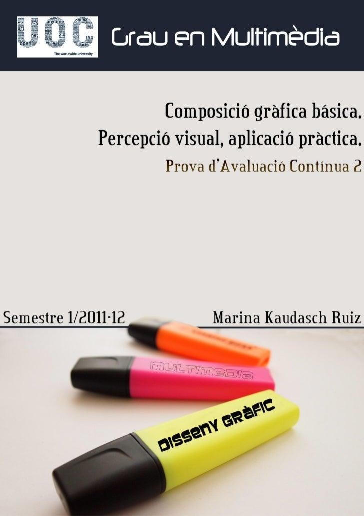 7.1. Principi o principis perceptius treballats.