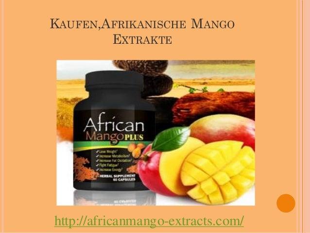 Kaufen,Afrikanische Mango Extrakte