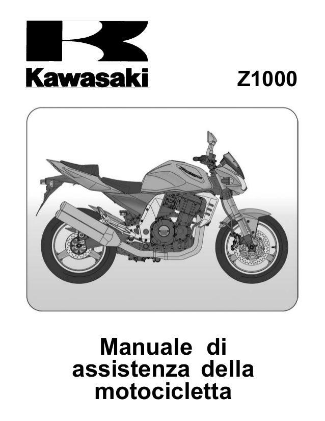 Z1000 Manuale di assistenza della motocicletta