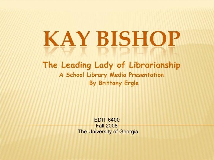 Kay Bishop Slm Star Presentation