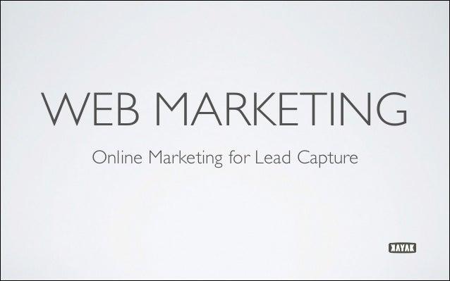 Kayak online marketing presentation to sait student entrepreneurs
