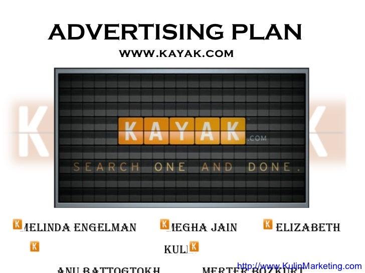 Kayak Advertising strategy