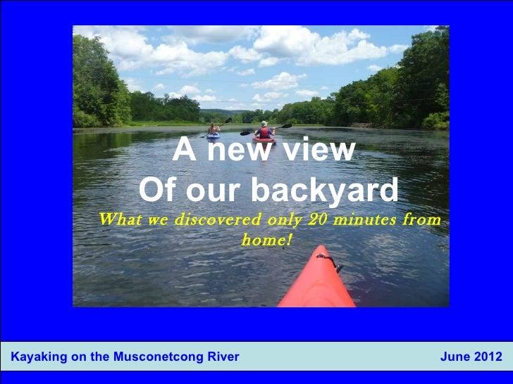 Kayaking slide set