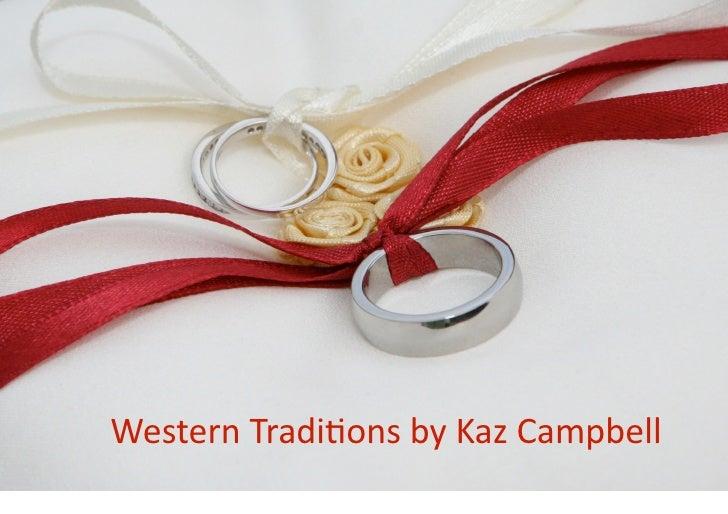 Kaz Campbell - Western Weddings