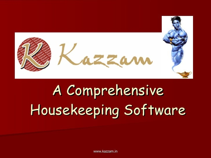 A Comprehensive Housekeeping Software