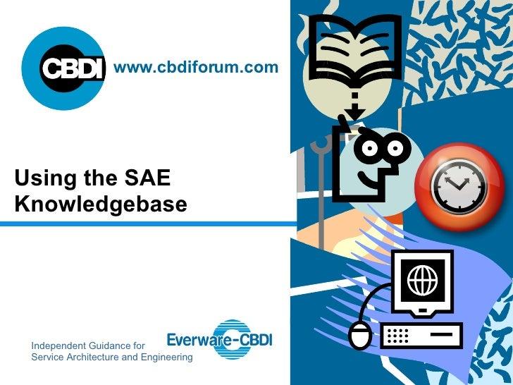SAE Knowledgebase Demo