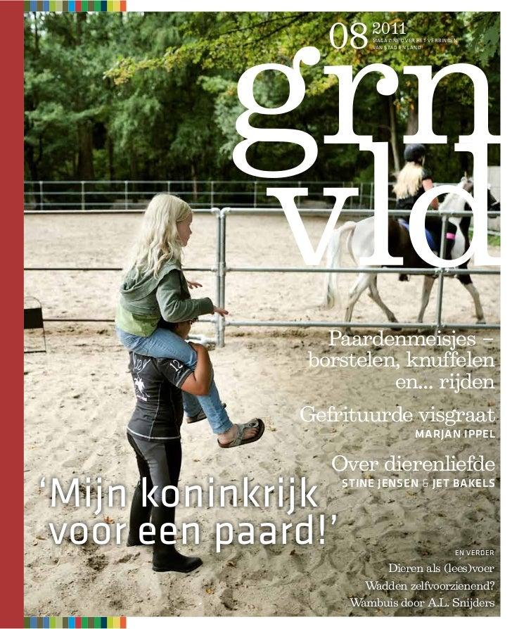 08      2011                         MAGAZINE OVER HET VERBINDEN                         VAN STAD EN LAND                 ...