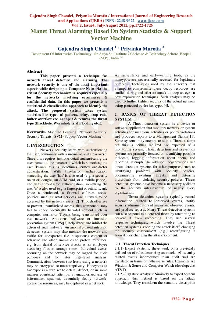 Gajendra Singh Chandel, Priyanka Murotia / International Journal of Engineering Research                and Applications (...