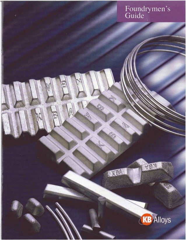 Kb alloys foundrymans guide to sr and ti bor