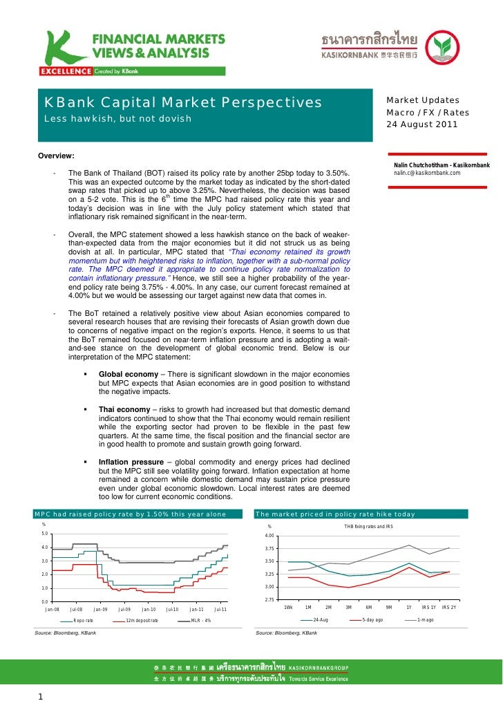 KBank Capital Markets perspectives aug 24 mpc