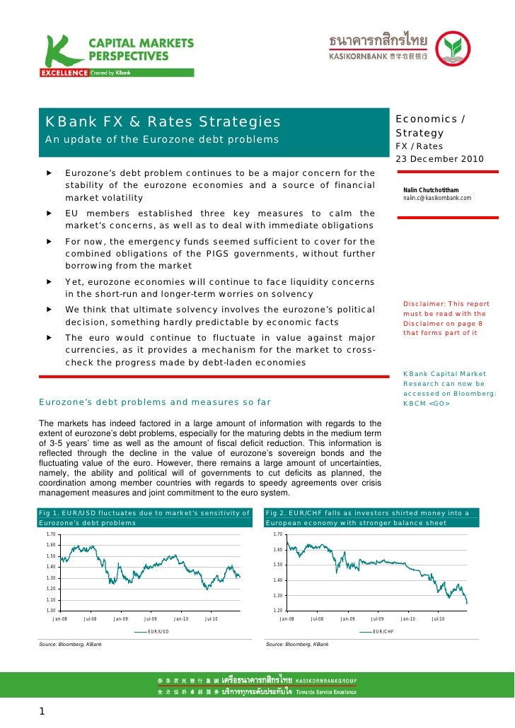 K bank fx & rates strategies   an update of eurozone