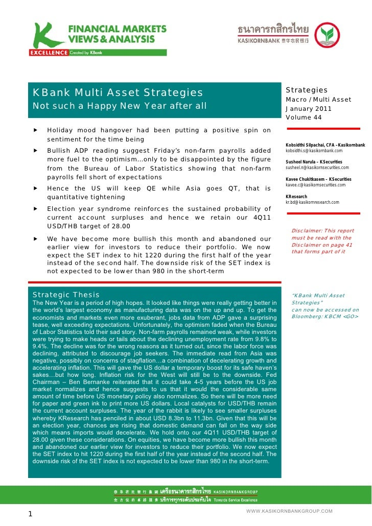 .Mean S Multi Asset Strategies  KBank                                                                                     ...