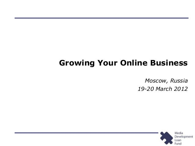 KB Seminars: Growing Your Online Business; 03/12