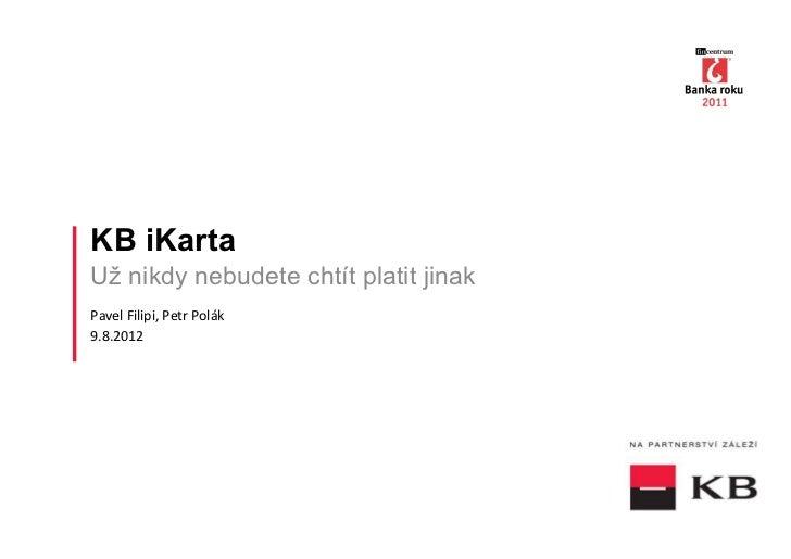 iKarta Komerční banky