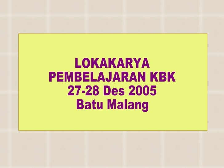KBK (up) Batu 27 28 des