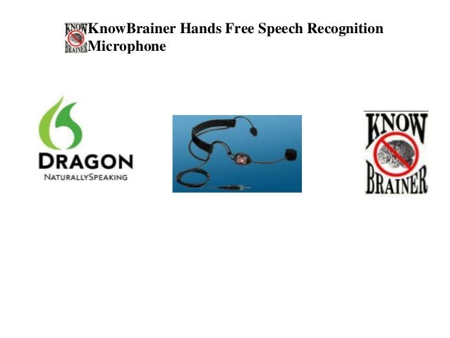 KnowBrainer Hands Free Speech RecognitionMicrophone