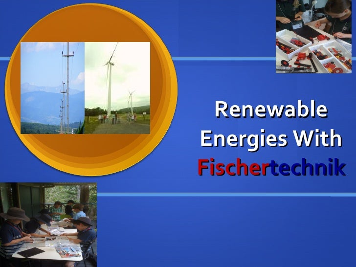 Renewable Energies With  Fischer technik