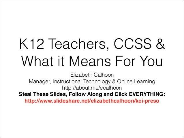 KCI Presentation - 3/13/14
