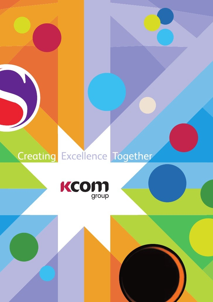The KCOM Group is a leading provider   of communications services to consumer     and business markets across the UK.Our g...