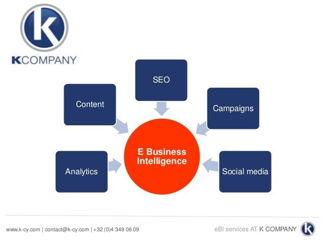K company eBI services