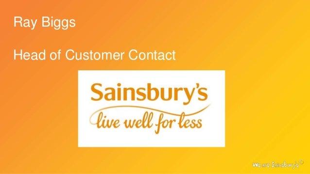 Sainsbury's - Ray Briggs