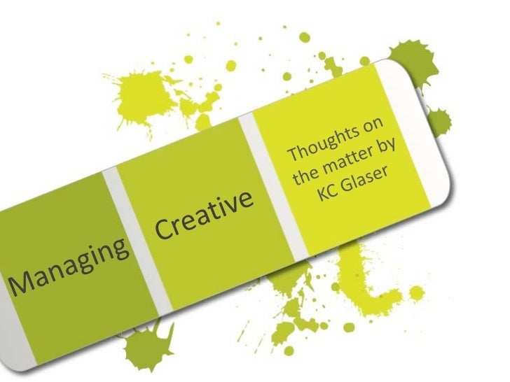 Managing Creative with KC Glaser