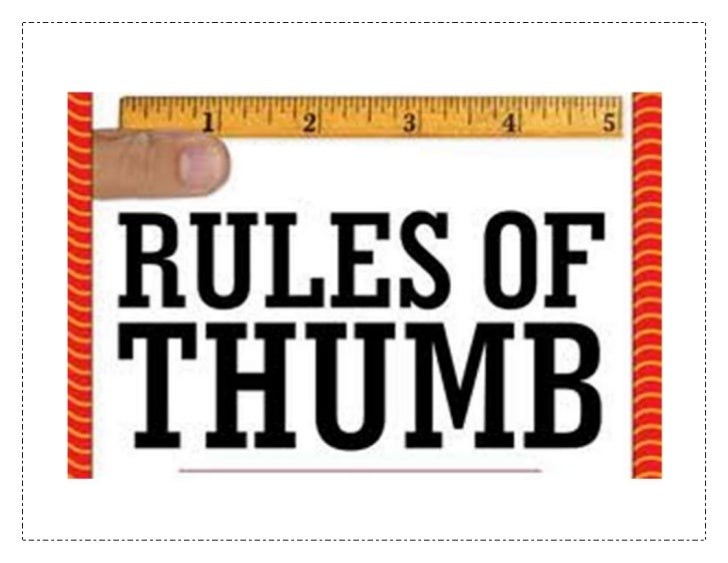 The Skinny on Health & Nutrition- Part 1: Rules of Thumb