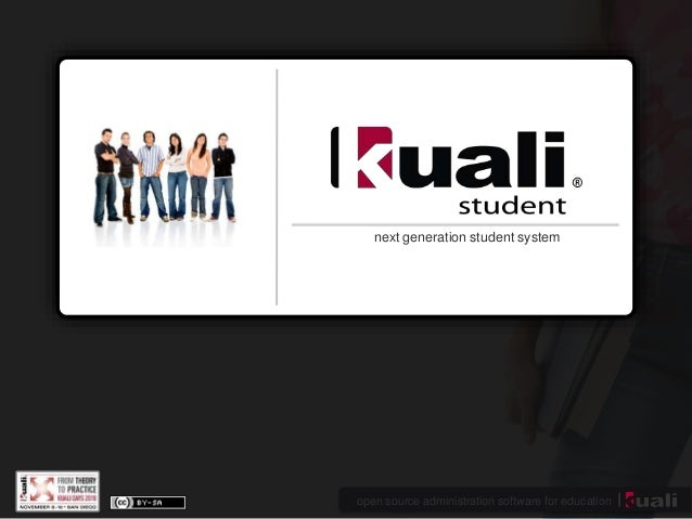 open source administration software for education next generation student system