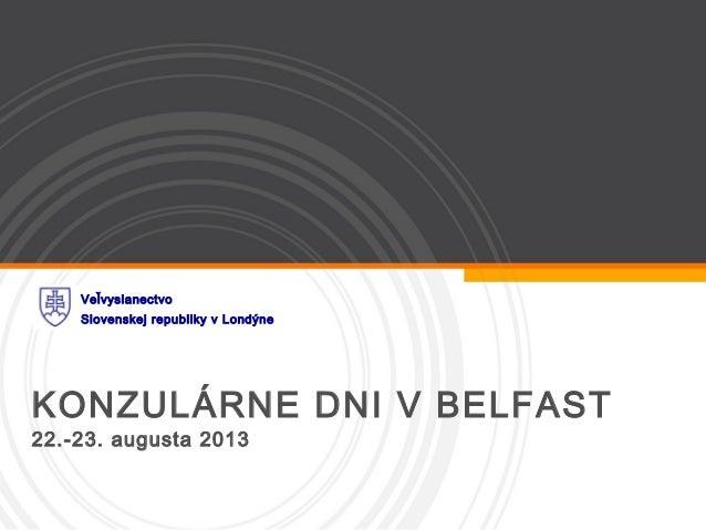 KD Belfast 22.-23. august 2013