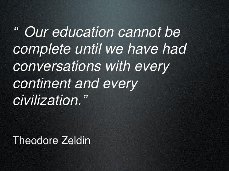 Building internationally literate communities