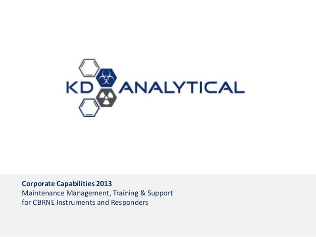 KD Analytical Capabilities Brief