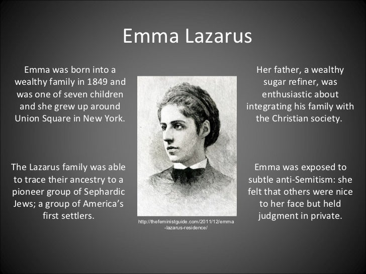Emma Lazarus new colossus meaning