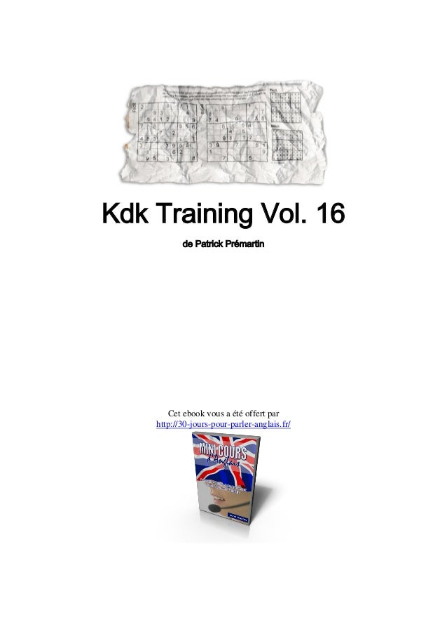 KDK Training 16