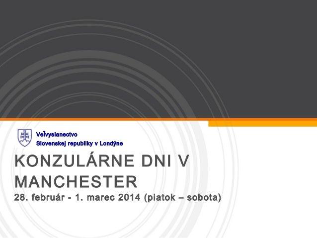 KD Manchester - 28.februar-1.marec 2014