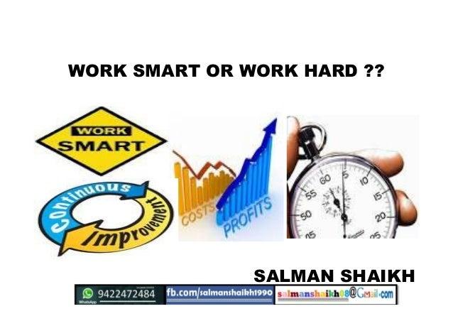 35 hard work and smart work
