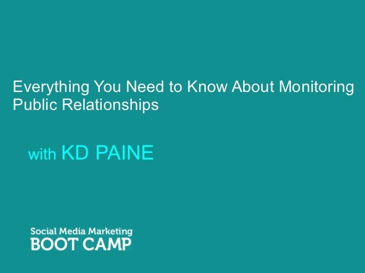 KD Paine Presentation