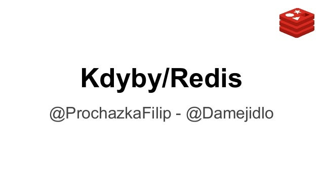 Kdyby/Redis