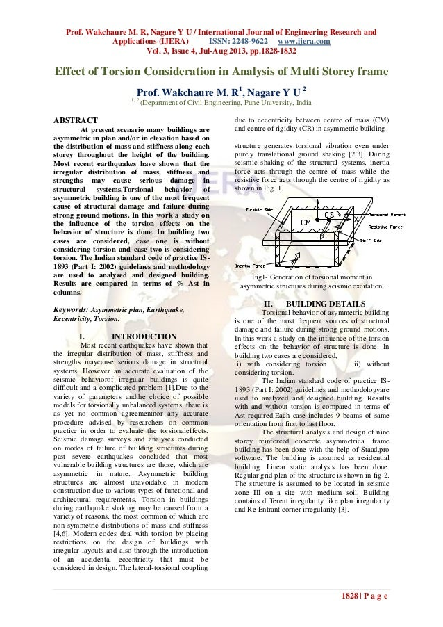 Prof. Wakchaure M. R, Nagare Y U / International Journal of Engineering Research and Applications (IJERA) ISSN: 2248-9622 ...