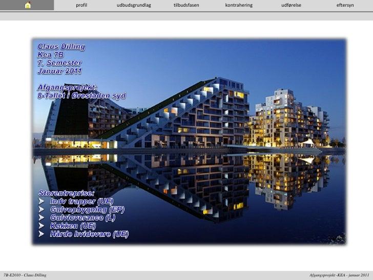 profil   udbudsgrundlag   tilbudsfasen   kontrahering   udførelse                 eftersyn7B-E2010 - Claus Dilling        ...