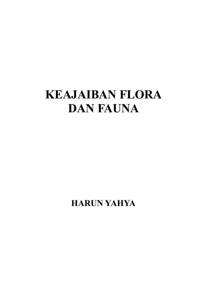 KEAJAIBAN FLORA   DAN FAUNA   HARUN YAHYA