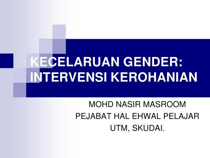 Kecelaruan gender dari perspektif islam
