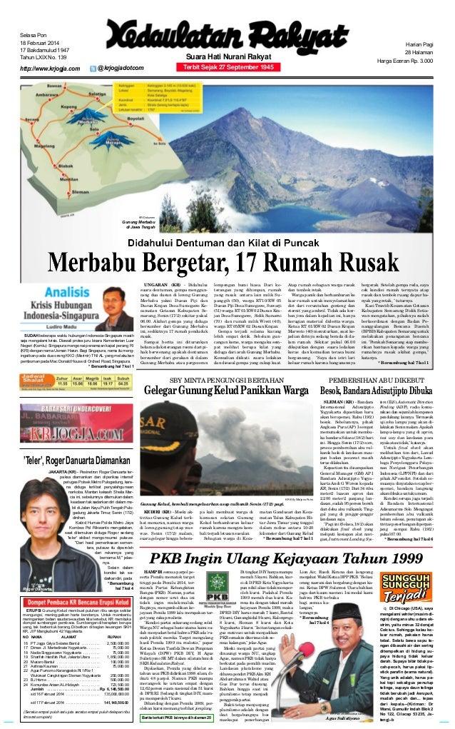 Kedaulatan Rakyat 18 Februari 2014