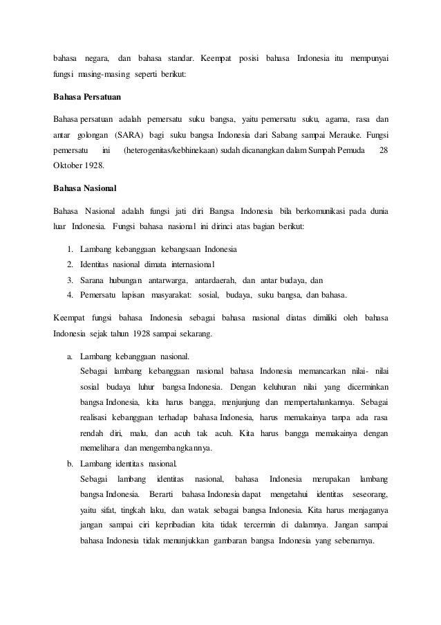 essay bahasa indonesia Tata bahasa adalah ilmu yang mempelajari kaidah-kaidah yang mengatur penggunaan bahasa pranala luar essay etexts at project gutenberg the new student.