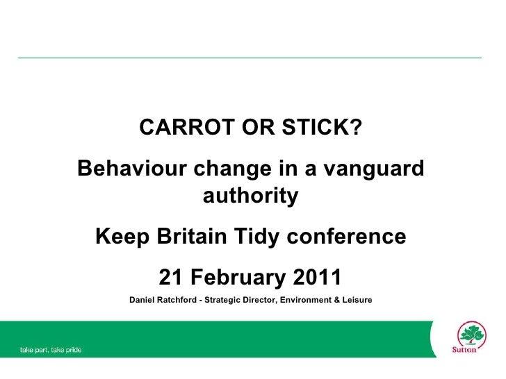 Keep britain Tidy 21 Feb 2011